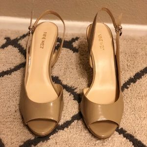Nine West Gabrielle slingback pumps